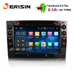 "Erisin ES4813M 7"" Android 9.0 Renault Megane Rádio Do Carro GPS DAB + Bluetooth OBD2 DVR RDS DTV Wifi 4G"