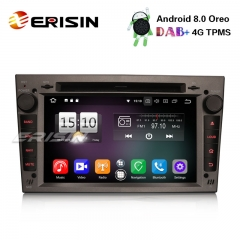 "Erisin ES7560PG 7"" 8-Core Android 8.0 Opel Vauxhall Vectra Astra Corsa Car Stereo DAB+GPS BT OBD CD"