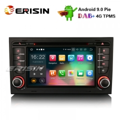 "Erisin ES7978A 7"" Android 9.0 Carro Estéreo DAB + GPS DVI Wifi CD 4G BT B4 S4 AUDI A4 S4 RS7 B7 SEAT EXEO"