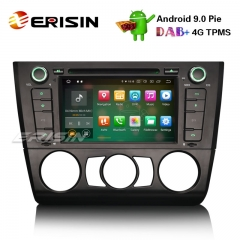 "Erisin ES7940B 7"" Stereo Car Android 9.0 DAB + GPS CD BT Satnav BMW 1 Série E81 Hatchback E82 E88"