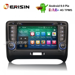 "Erisin ES7979T 7"" Android 9.0 Estéreo Do Carro DAB + GPS DVR DTV-IN Wi-fi 4G OBD2 BT TPMS Para AUDI TT MK2"