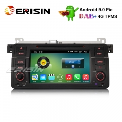 "Erisin ES3546B 7"" Android 9.0 Car Stereo GPS DAB + DVR TPMS CD BMW 3er E46 318 320 M3 Rover75 MG ZT"