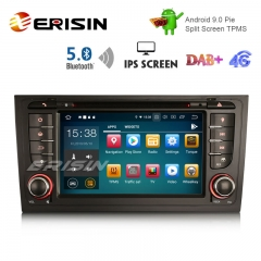 "Erisin ES8006A 7"" DAB+ IPS Android 9.0 DSP Car GPS OBD WIFI DVD BT5.0 for AUDI A6 S6 RS6 allroad"