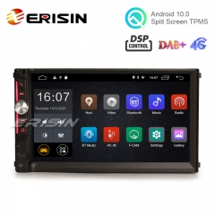 "Erisin ES2642U 7"" Android 10.0 Car Stereo 2G+16G DAB+ WiFi DSP for Universal 2Din Car Device"