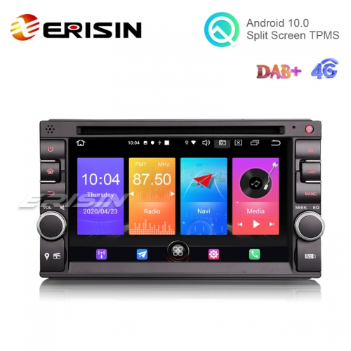 "Erisin ES2736U 6.2"" Android 10.0 Car Stereo GPS DVD 4G DAB+ CarPlay+ Radio System"
